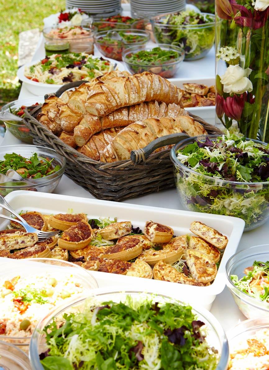buffet extérieur